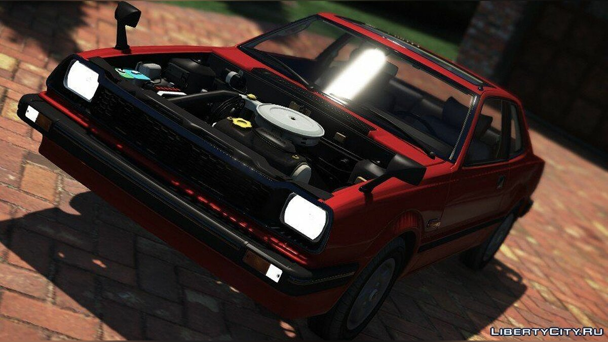 Honda Prelude 1980 for GTA 5 - screenshot #5