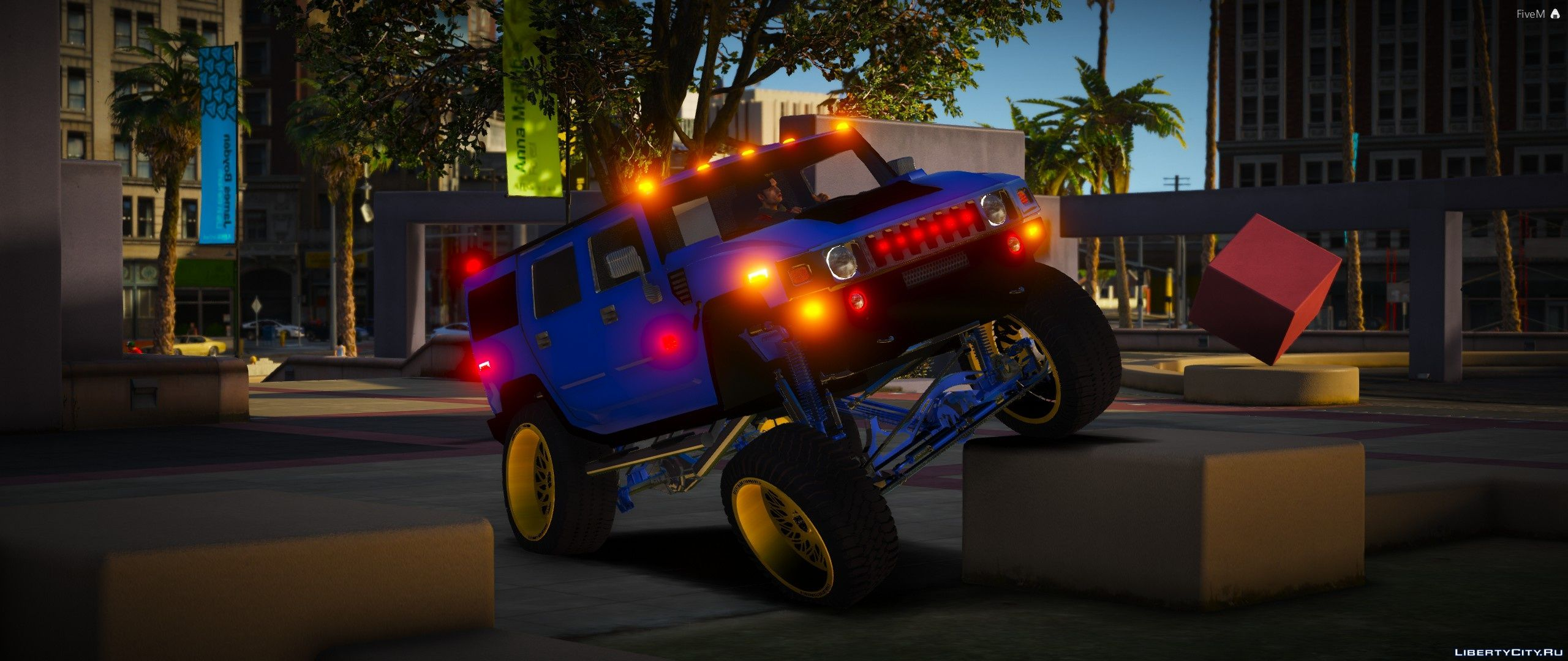 Hummer H2 [Add-On | FiveM] 1 0 for GTA 5
