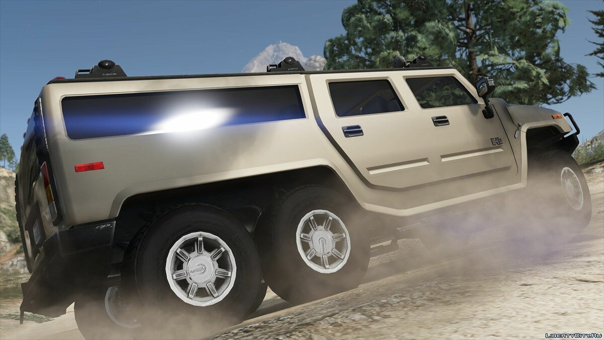 Hummer car Hummer H6 [Add-On / Replace | Template] 3.0 for GTA 5