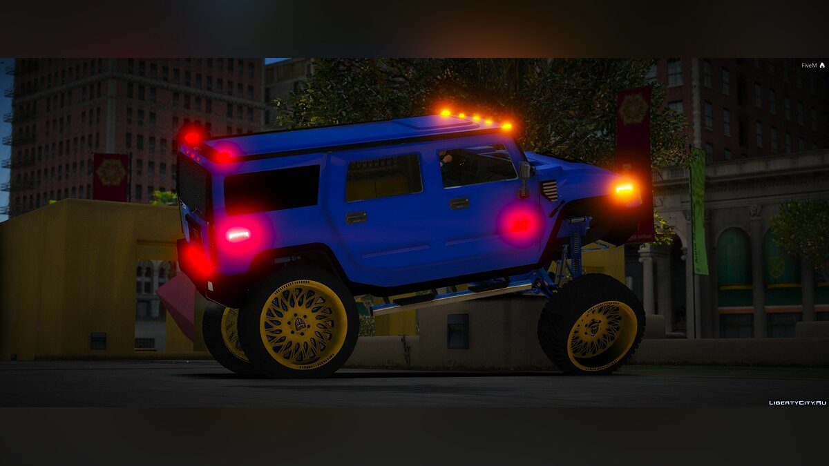 Hummer car Hummer H2 [Add-On | FiveM] 1.0 for GTA 5