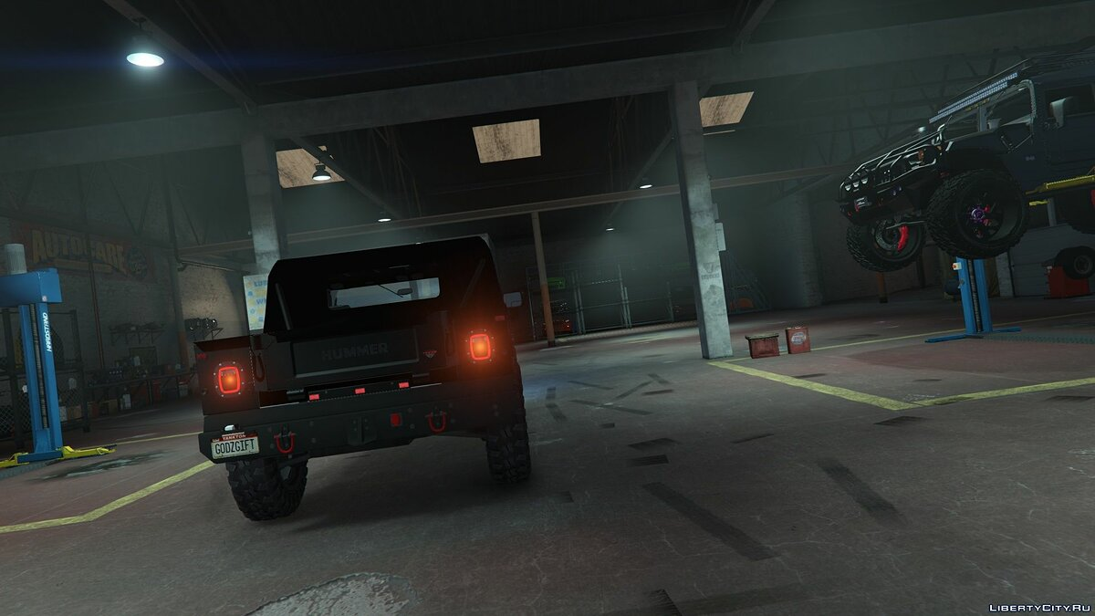 Hummer car H1 alpha open top [add-on | replace | fiveM] 1.0 for GTA 5