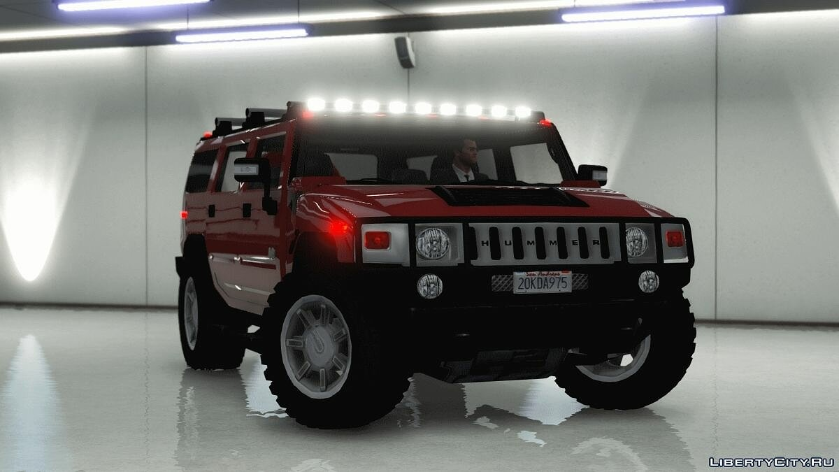 Hummer car Hummer H2 [FINAL 2] for GTA 5