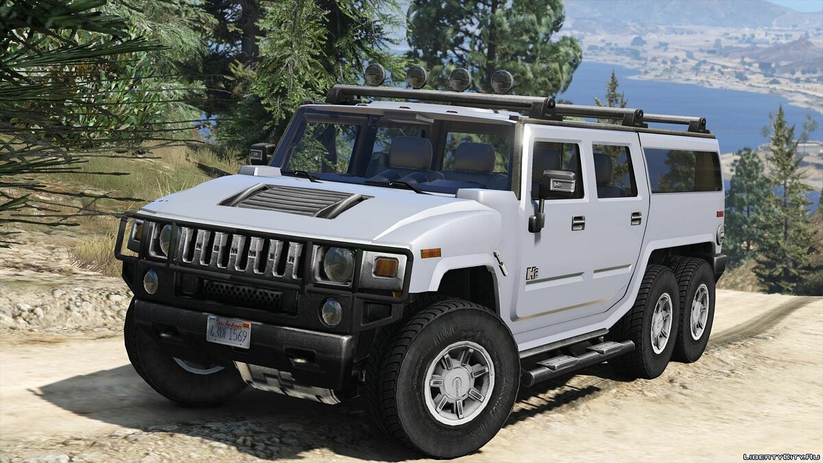 Hummer car Hummer H6 + Template 2.0 for GTA 5