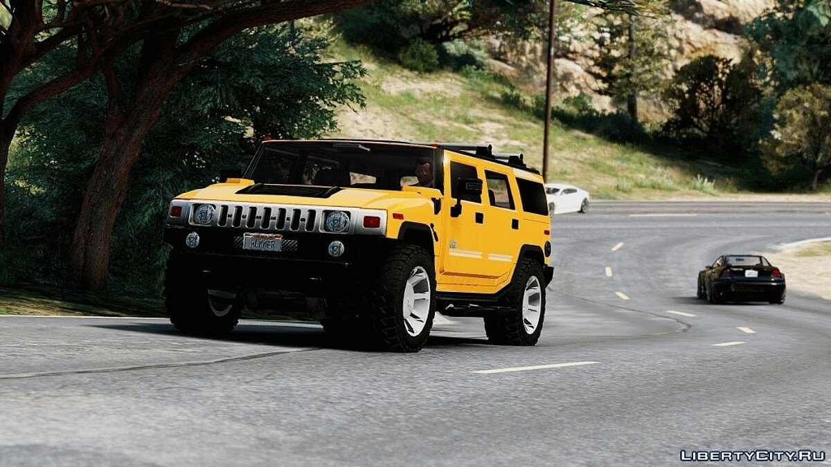 Hummer car Hummer H2 [FINAL] for GTA 5