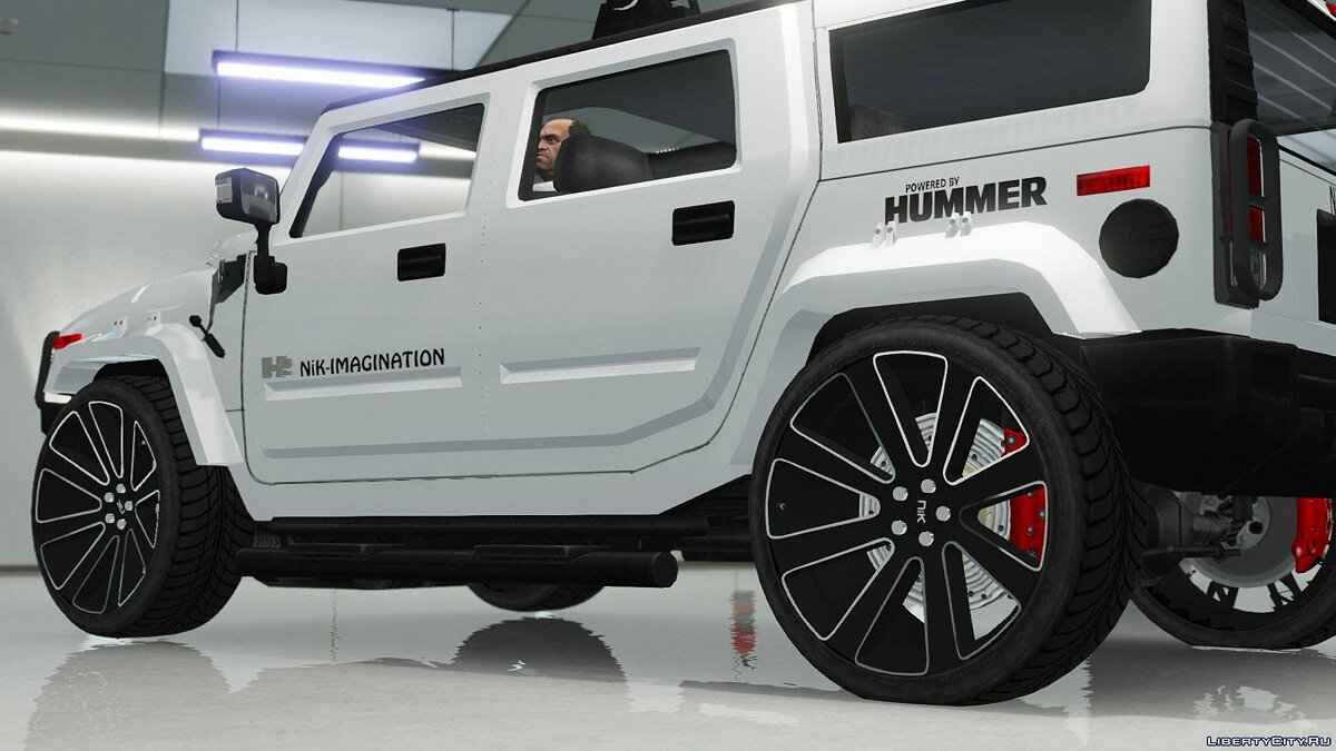 Hummer car Hummer H2 Modified [NiK] [Add-On / Replace] 1.0 for GTA 5