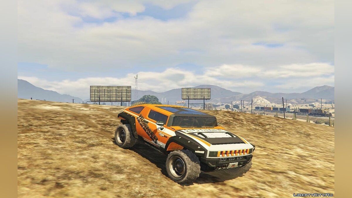Hummer car Hummer HX for GTA 5