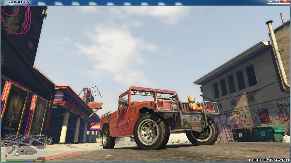 Hummer car 1992 Hummer H1 PickUp for GTA 5