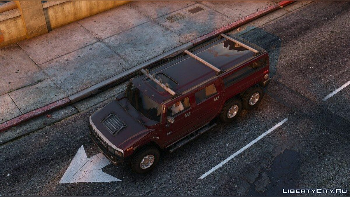 Hummer car Hummer H6 for GTA 5