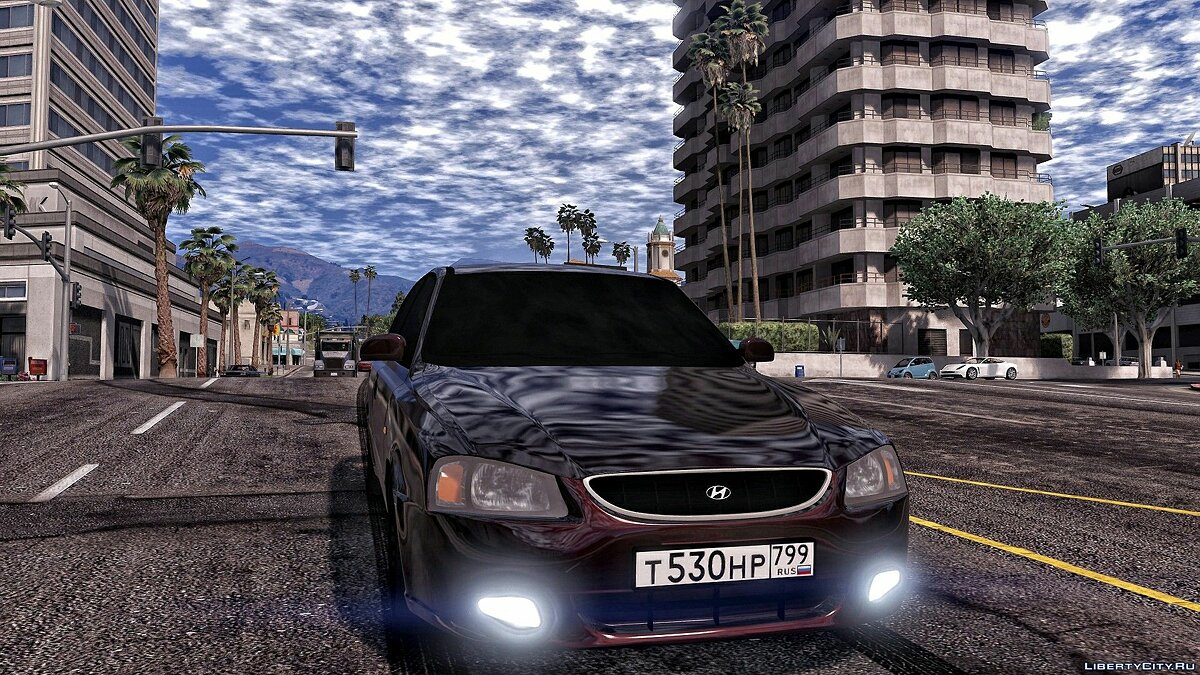 Hyundai car Hyundai accent for GTA 5