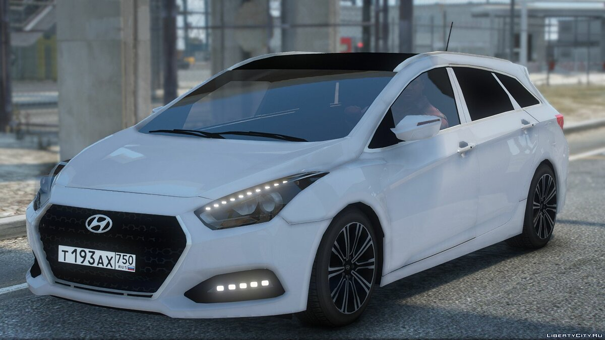Hyundai car Hyundai I40 Estate 2015 for GTA 5