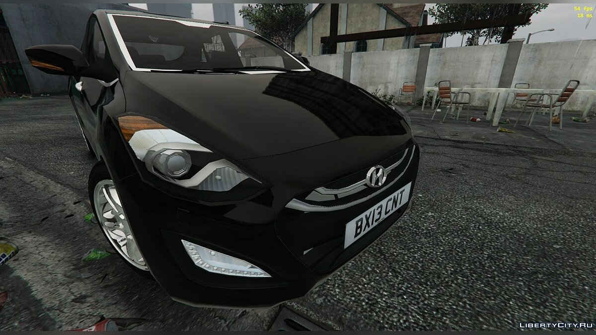 Hyundai car Hyundai i30 2013 [Replace | FiveM-Addon] 1.0 for GTA 5