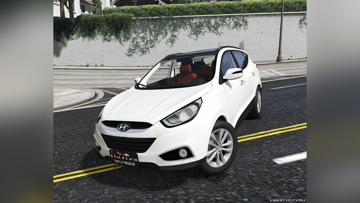 Hyundai car Hyundai IX35 2012 (Add-on) 1.0 for GTA 5