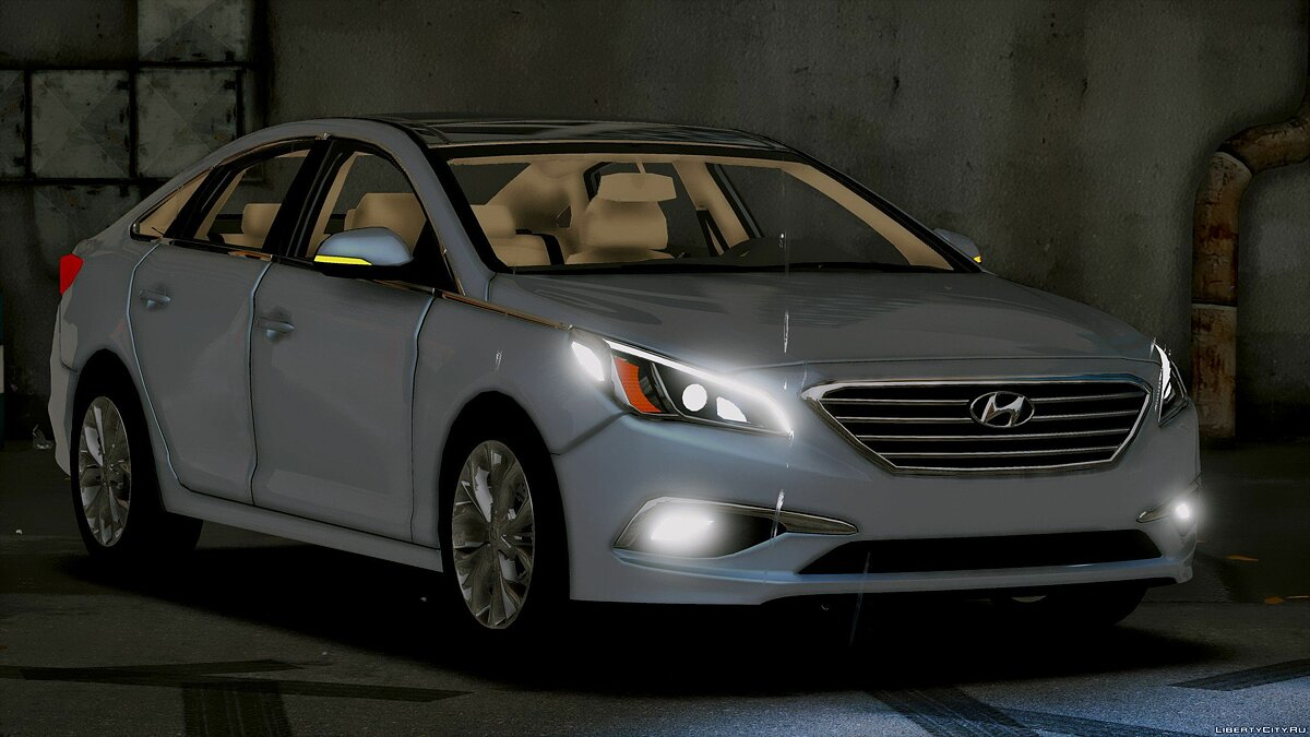 2016 Hyundai Sonata HQ [Replace] [1.0] for GTA 5