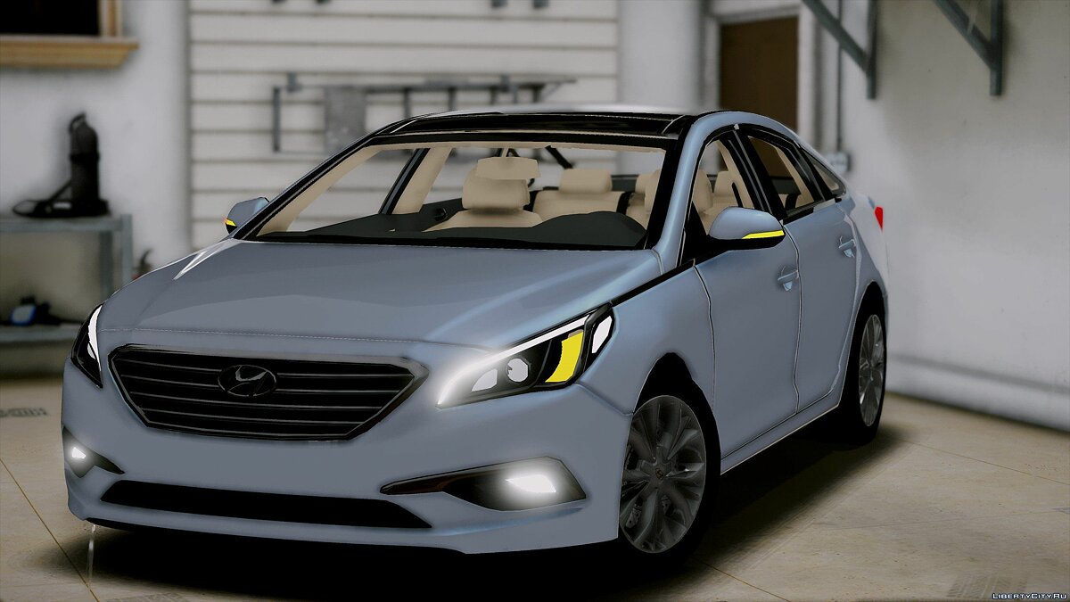 2016 Hyundai Sonata HQ [Replace] [1.0] for GTA 5 - screenshot #2