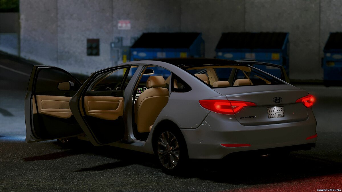 2016 Hyundai Sonata HQ [Replace] [1.0] for GTA 5 - screenshot #4