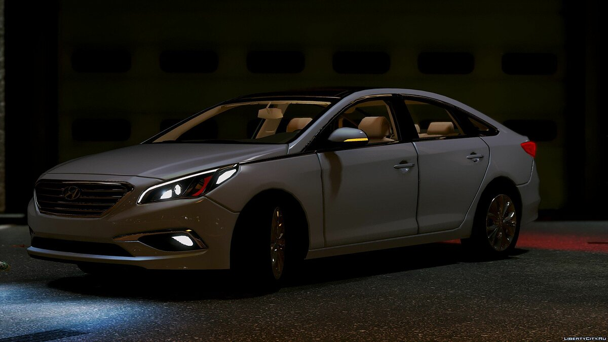 2016 Hyundai Sonata HQ [Replace] [1.0] for GTA 5 - screenshot #5
