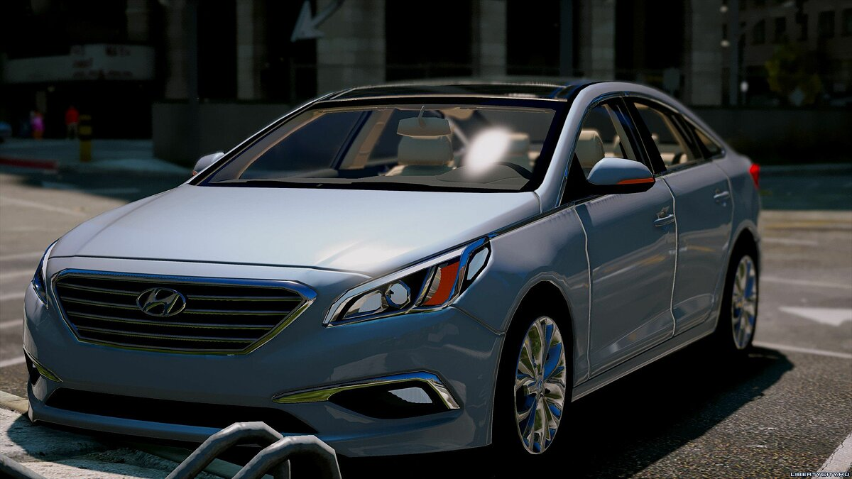 2016 Hyundai Sonata HQ [Replace] [1.0] for GTA 5 - screenshot #6