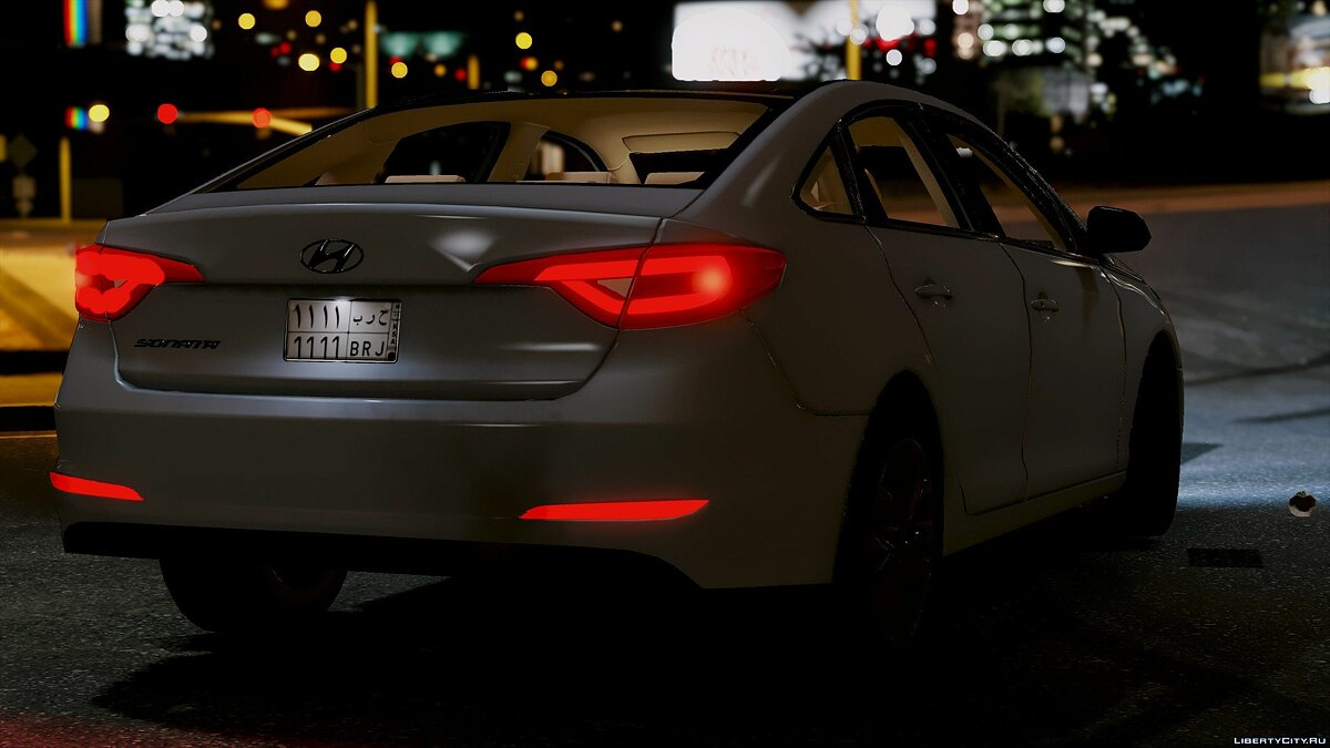 2016 Hyundai Sonata HQ [Replace] [1.0] for GTA 5 - screenshot #7