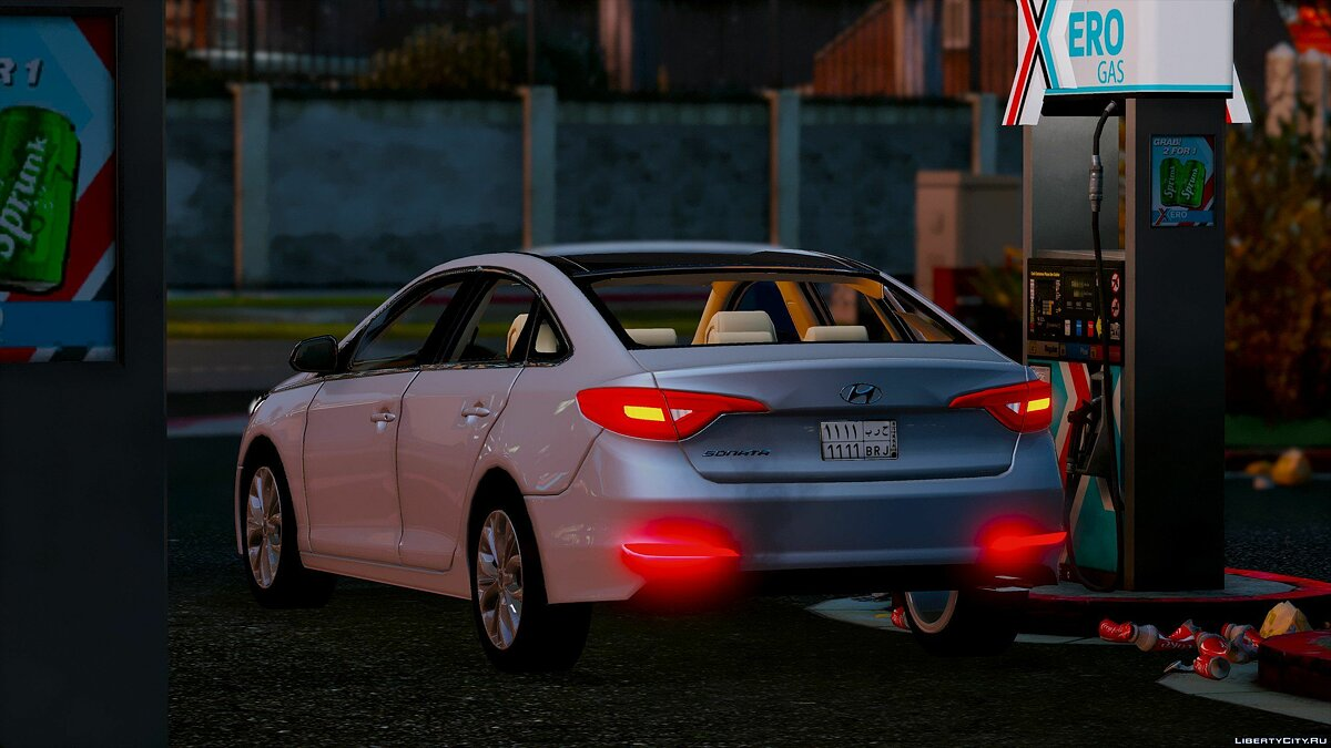 2016 Hyundai Sonata HQ [Replace] [1.0] for GTA 5 - screenshot #8