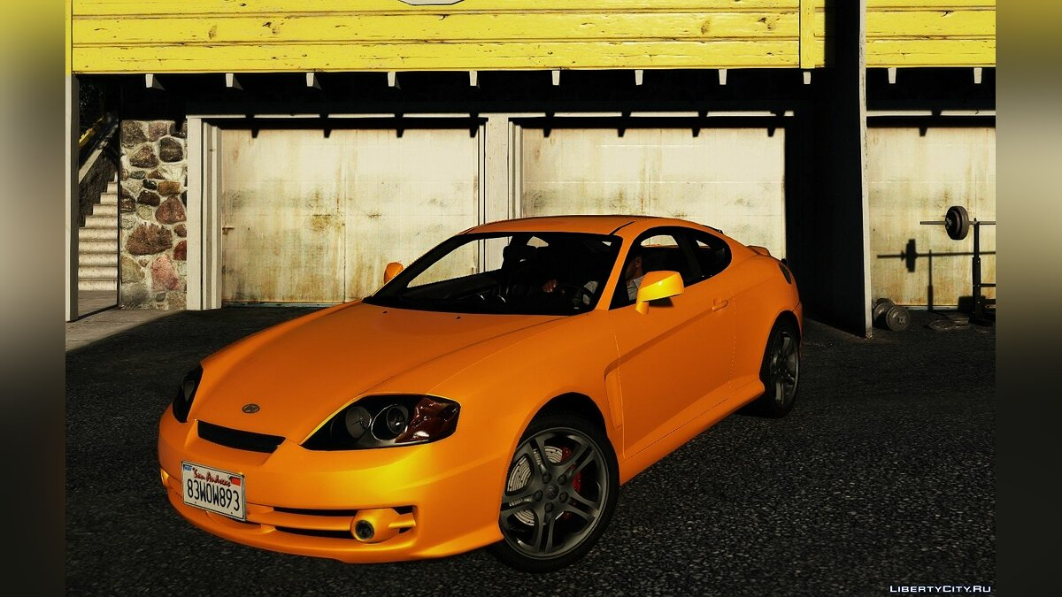 Hyundai car Hyundai Tiburon Coupe V6 [Add-On | Tuning | Template] 1.0 for GTA 5