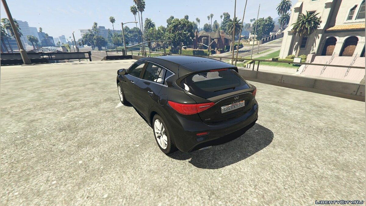Infinity car Infiniti Q30 for GTA 5