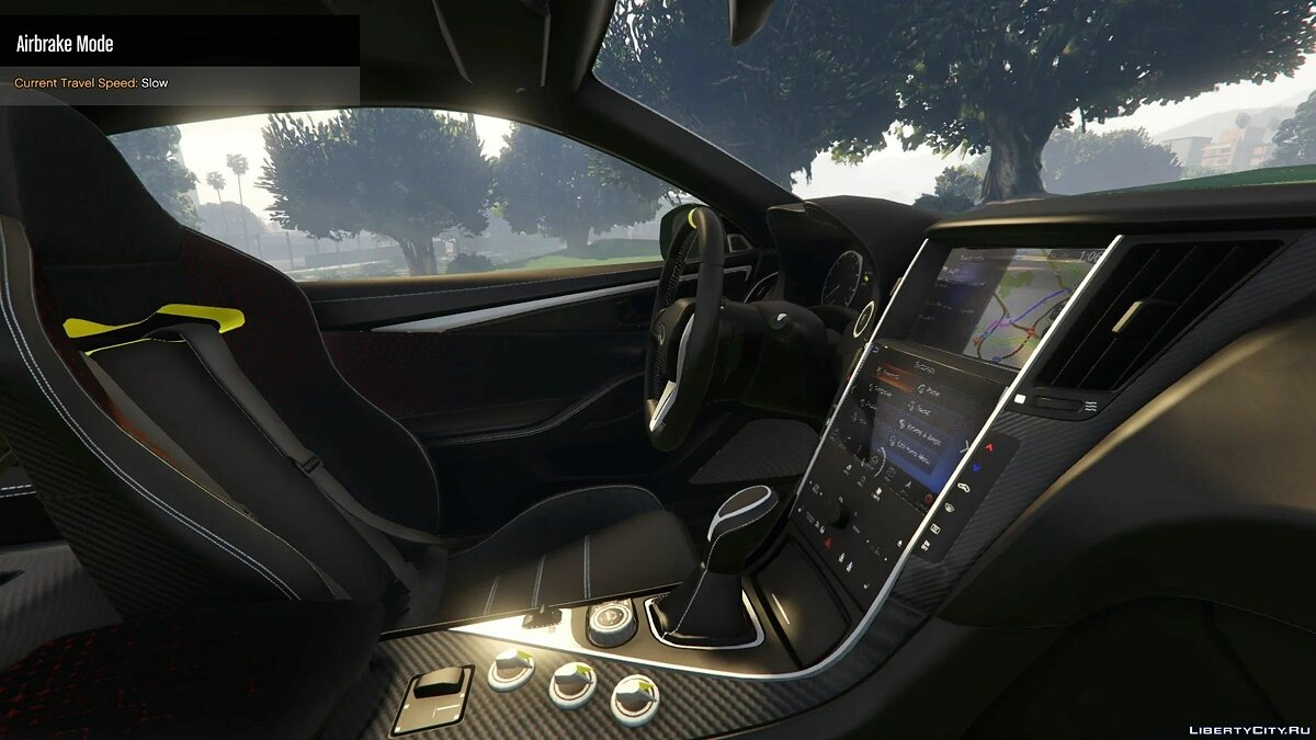 Infinity car 2020 Infiniti Q60 Project Black REPLACE / ADDON S 1.0 for GTA 5