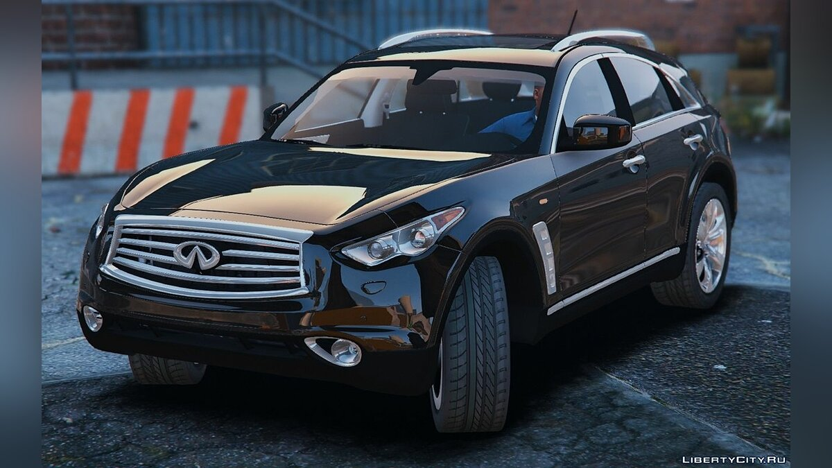 Infinity car Infiniti FX50S [Add-On / Replace] 1.0 for GTA 5