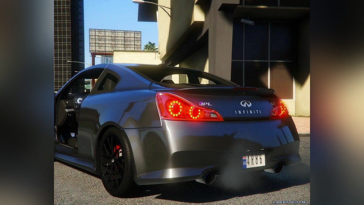 Infinity car 2012 Infiniti IPL G Coupe [Add-On] 1.0 for GTA 5