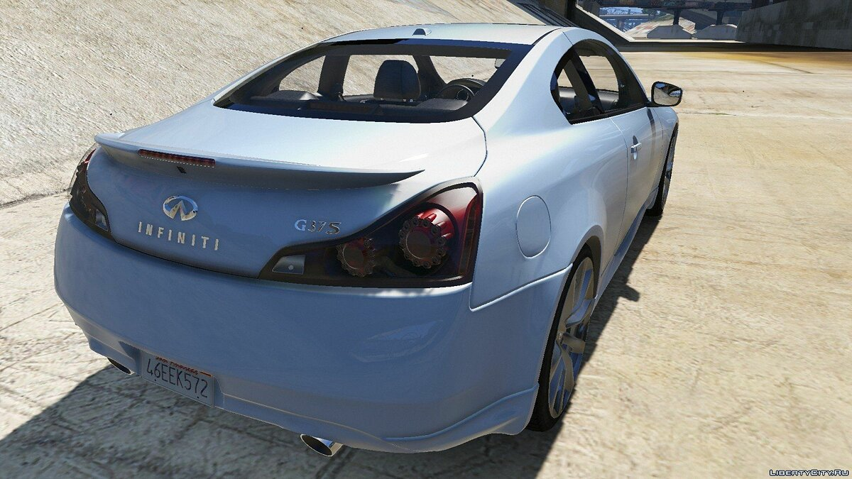 Infinity car 2008 Infiniti G37 Coupe Sport 1.0 for GTA 5