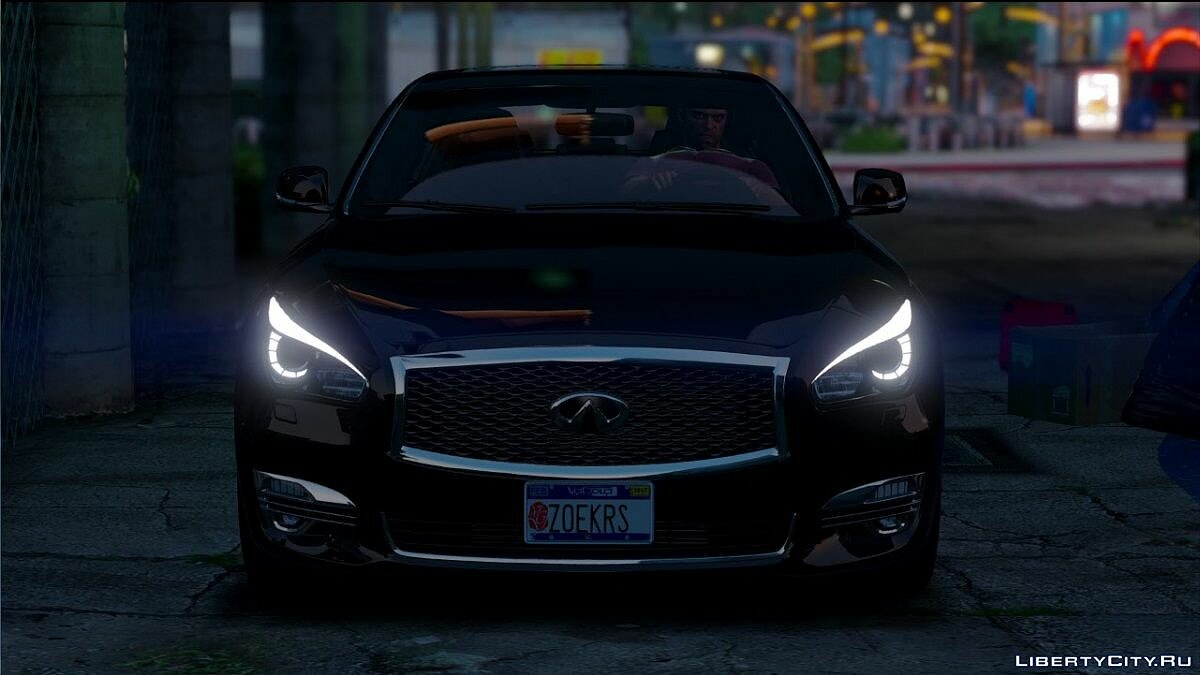 Infinity car Infiniti Q70 Final for GTA 5