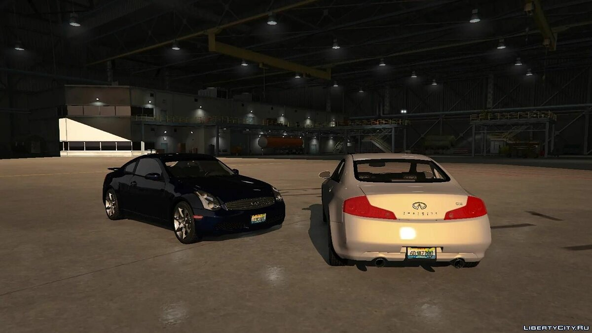 Infinity car Infiniti G35 Coupe 2003 [Add On | Tuning] 1.0 for GTA 5