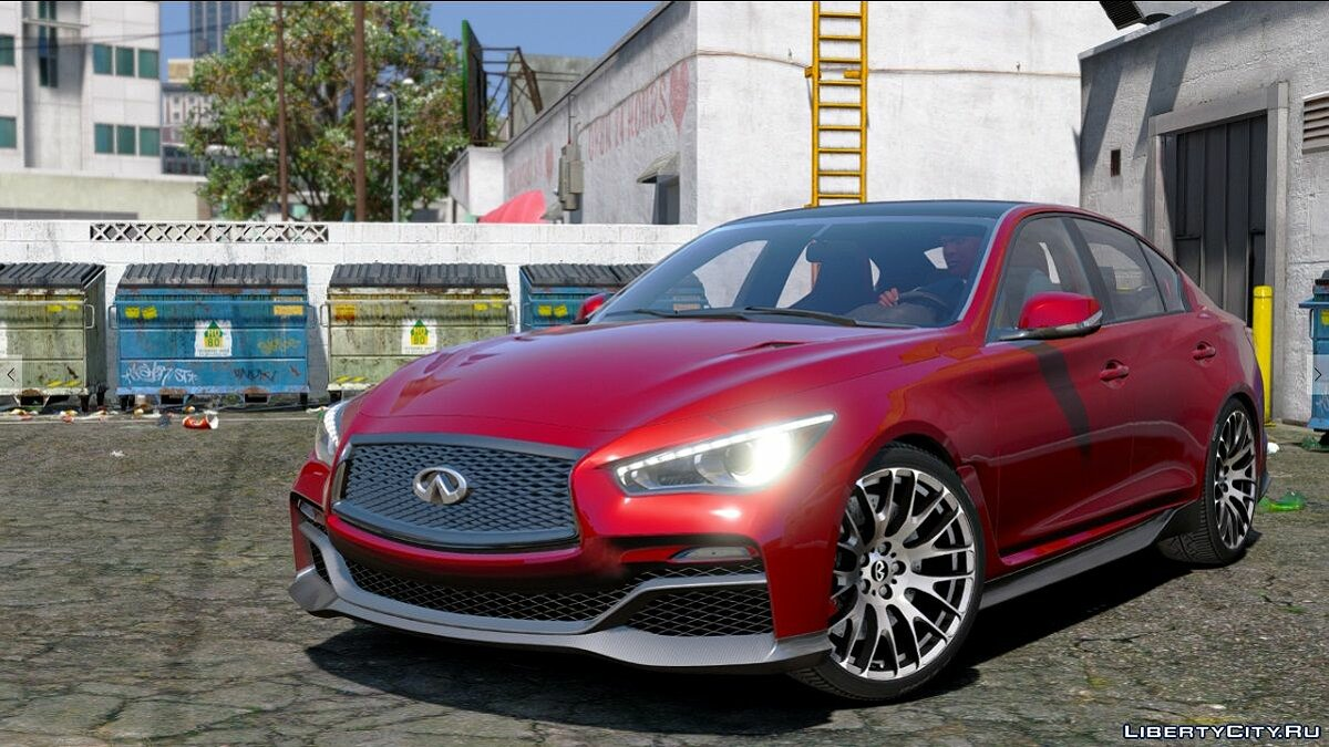 Infinity car Infiniti Q50 Eau Rouge [FINAL] for GTA 5