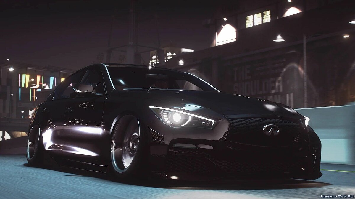 Infinity car 2014 Infiniti Q50 VIP [Add-On / Replace] 1.0 for GTA 5