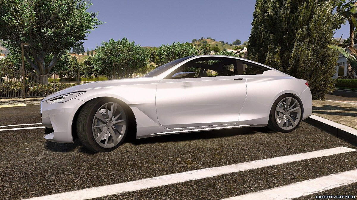 Infinity car Infiniti Q60 Concept 2016 [Replace / Unlocked] 1.0 for GTA 5