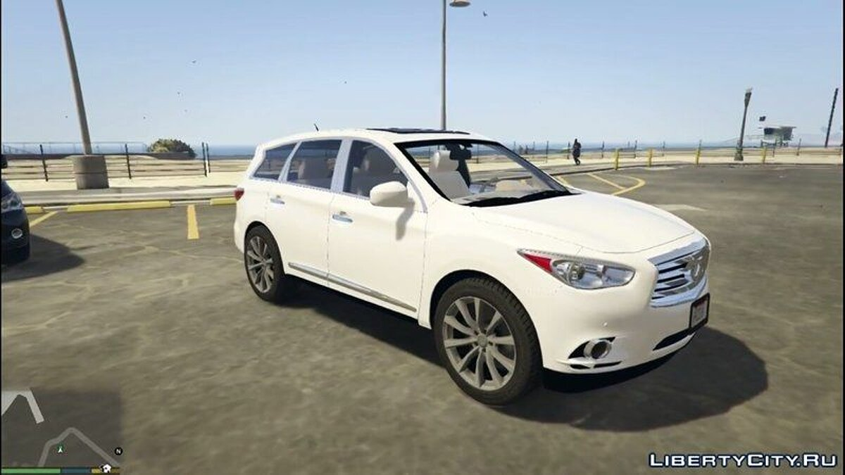Infinity car Infiniti JX35 for GTA 5