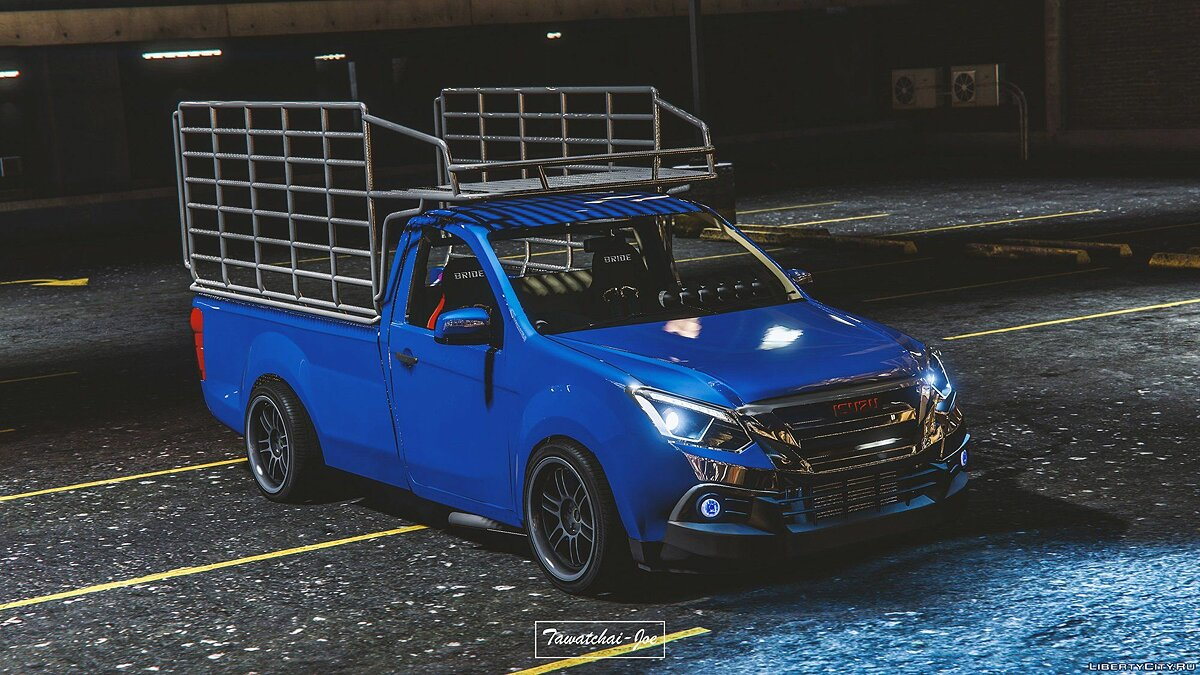 Isuzu car Isuzu D-MAX + Mu-x [Add-On / Tuning / Template] for GTA 5