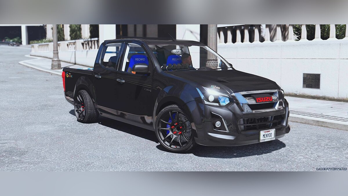 Isuzu car Isuzu D-MAX Blue Power 1.9 2016 [Add-On] 1.1 for GTA 5