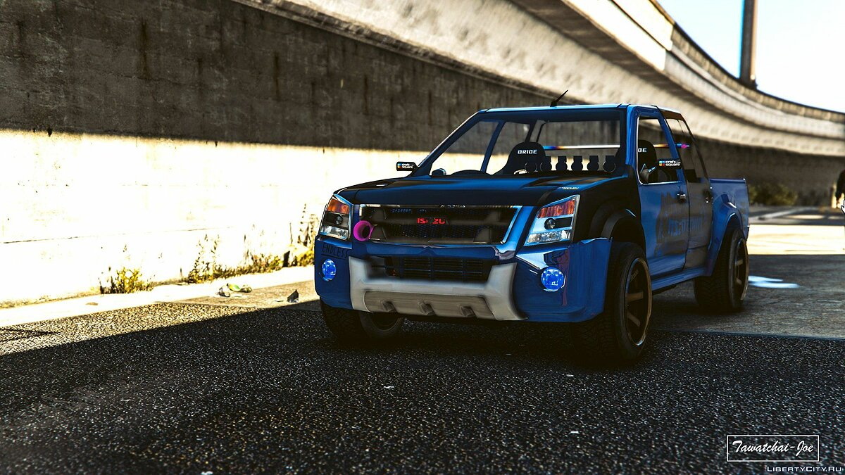 Isuzu car Isuzu D-max Hi Lander 2010 [Add-On / Tuning / Template] 1.0 for GTA 5