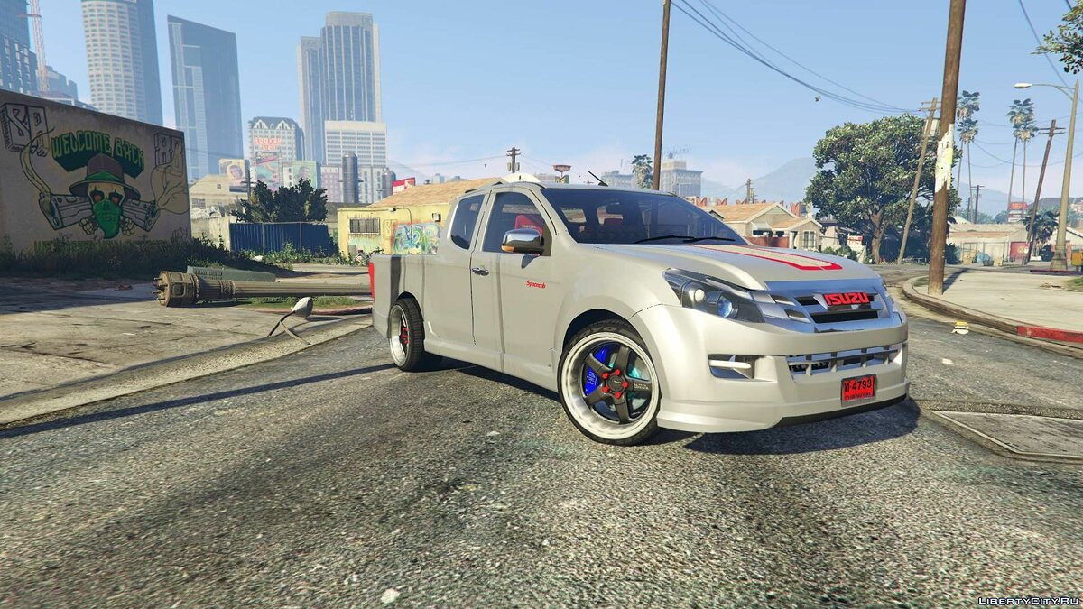 Isuzu car Isuzu D-Max X-Series 2015 [Add-On] for GTA 5