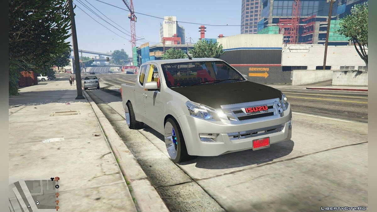 Isuzu car Isuzu D-Max 2014 (Asia Thailand) [Add-On / Replace] 1.3 for GTA 5