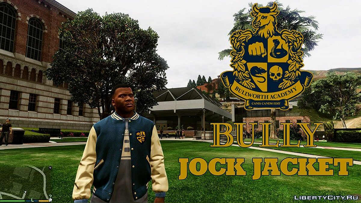 Jackets or suits Student jacket from the game Bully for GTA 5