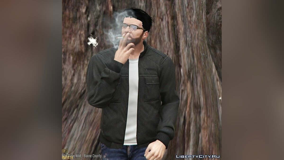 Jackets or suits Franklin's Utility Bombers For Michael for GTA 5