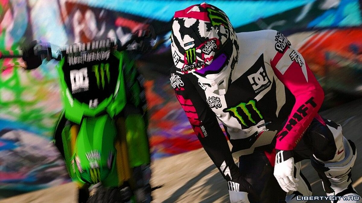 Jackets or suits Costume FOX x SHIFT MX Gear for GTA 5