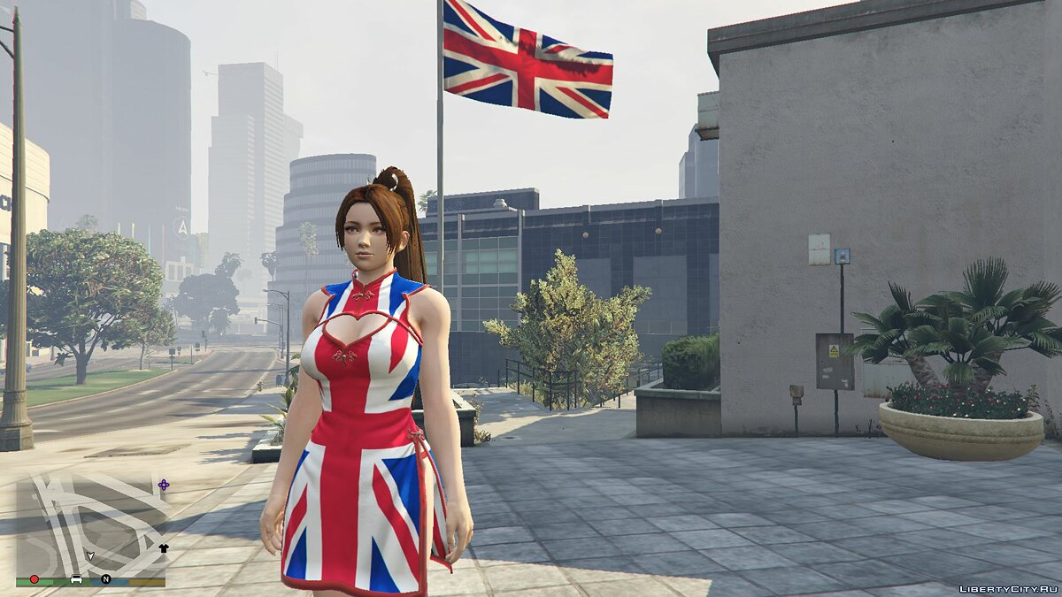 Jackets or suits British clothes for Mai Shiranui 1.0 for GTA 5