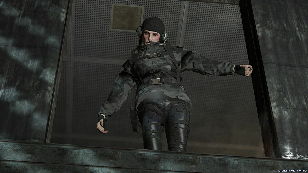 Jackets or suits Rainbow Six Ela Inspired Clothes (MP Female) 1.1 - Special Forces Clothes for GTA 5