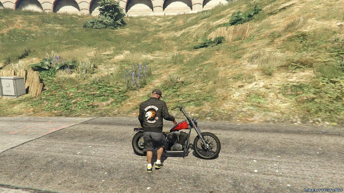 Ride To Hell Jacket (Franklin) for GTA 5 - Картинка #4