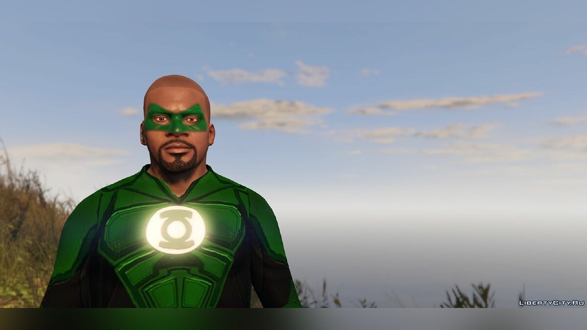 Jackets or suits Green Lantern - Franklin for GTA 5