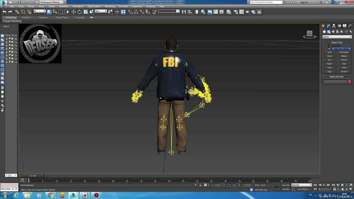Jackets or suits FBI Clothing for Michael for GTA 5