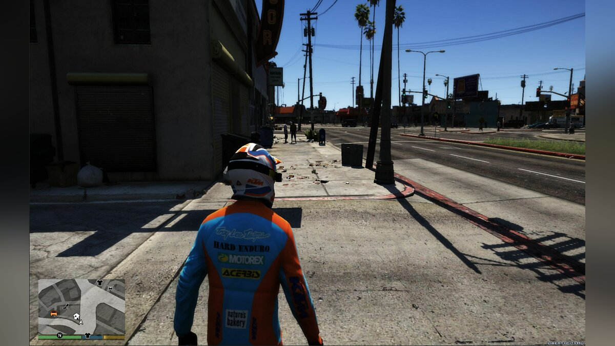 Jackets or suits KTM TLD GO PRO 2019 motorcycle suit for GTA 5