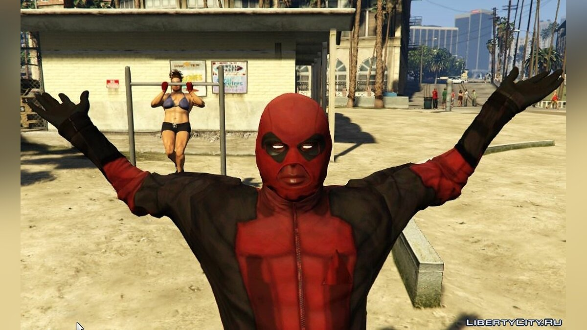 Jackets or suits Deadpool 1.0 for GTA 5